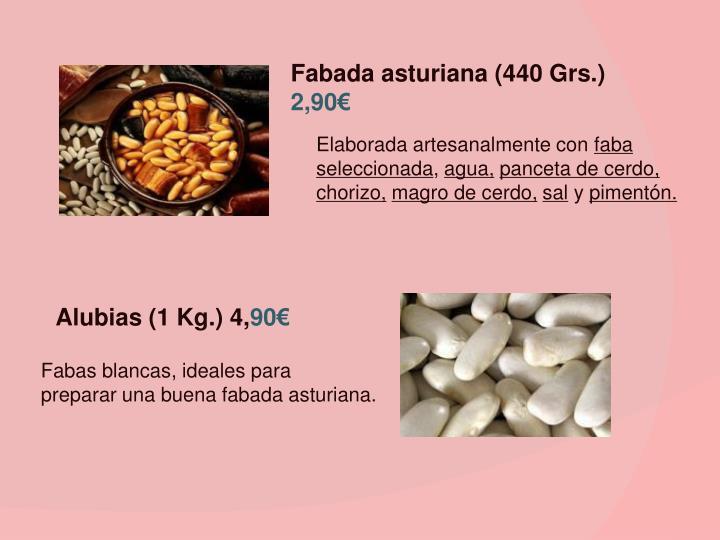 Fabada asturiana (440 Grs.)