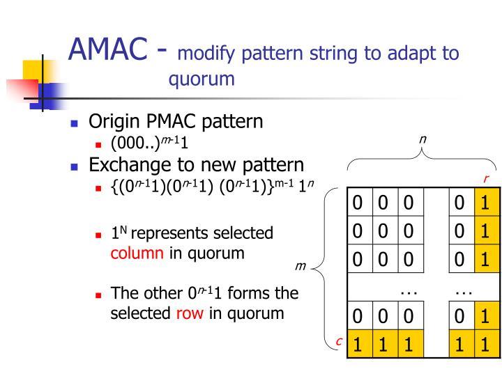 AMAC -