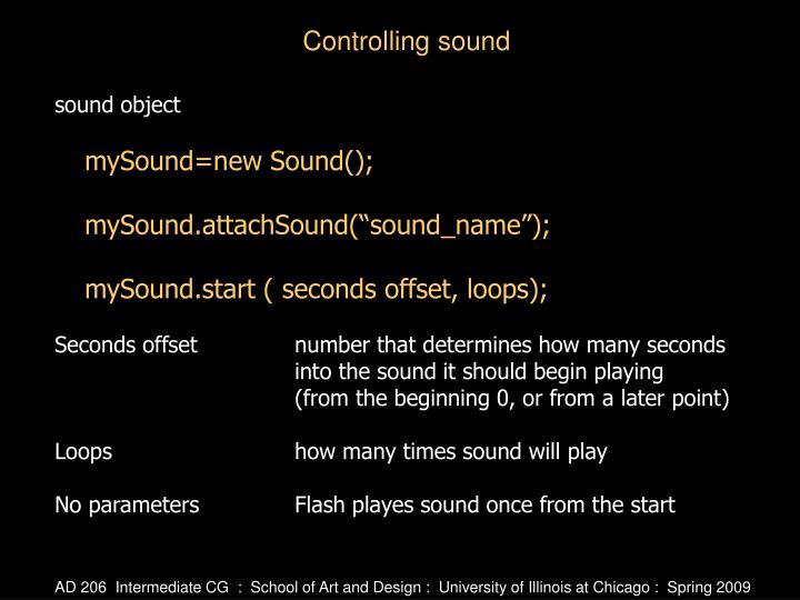 sound object