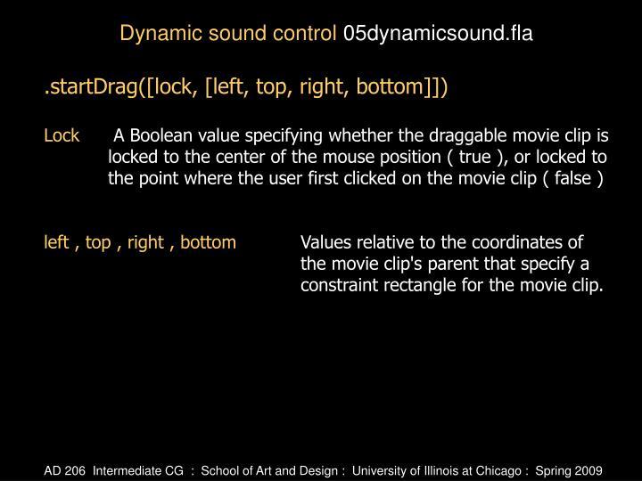 .startDrag([lock, [left, top, right, bottom]])