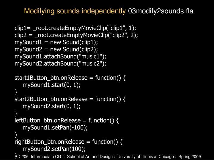 "clip1= _root.createEmptyMovieClip(""clip1"", 1);"