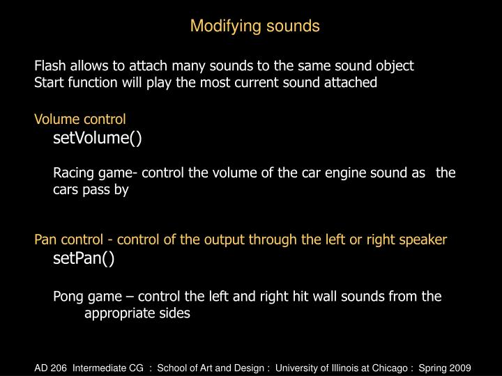 Flash allows to attach many sounds to the same sound object