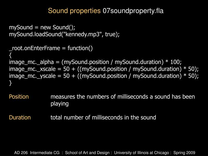 mySound = new Sound();