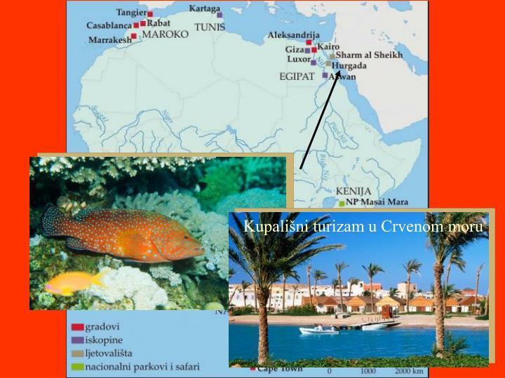 Kupališni turizam u Crvenom moru