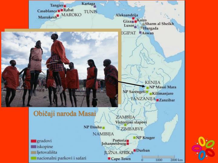 Običaji naroda Masai