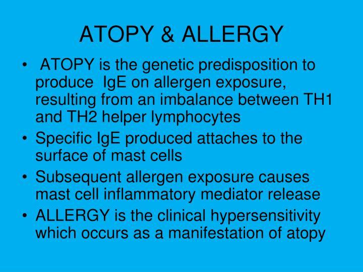 ATOPY & ALLERGY