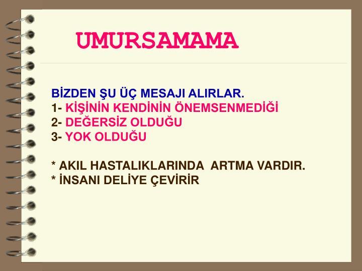 UMURSAMAMA