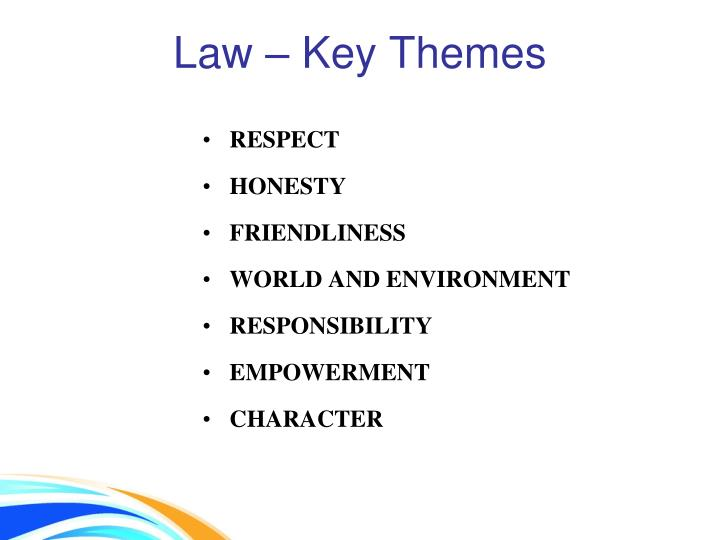 Law – Key Themes