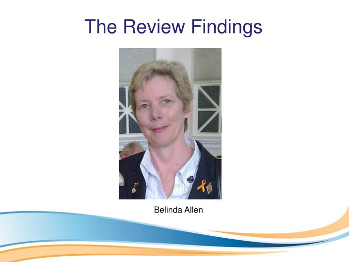 The Review Findings