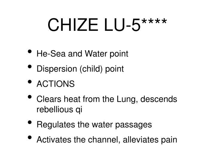 CHIZE LU-5****