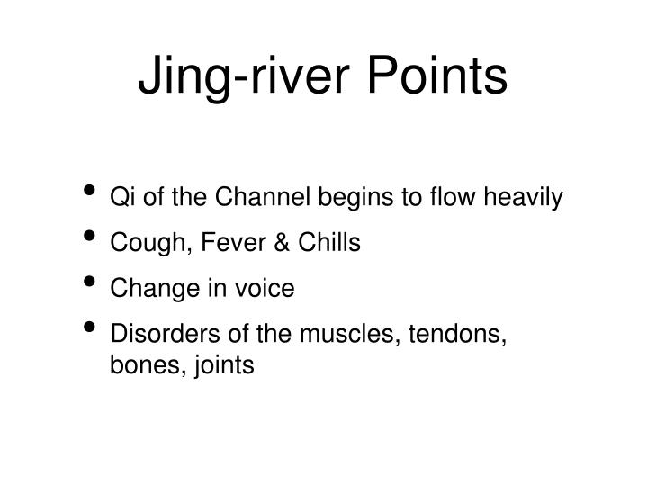 Jing-river Points