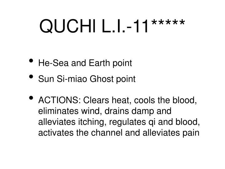 QUCHl L.I.-11*****