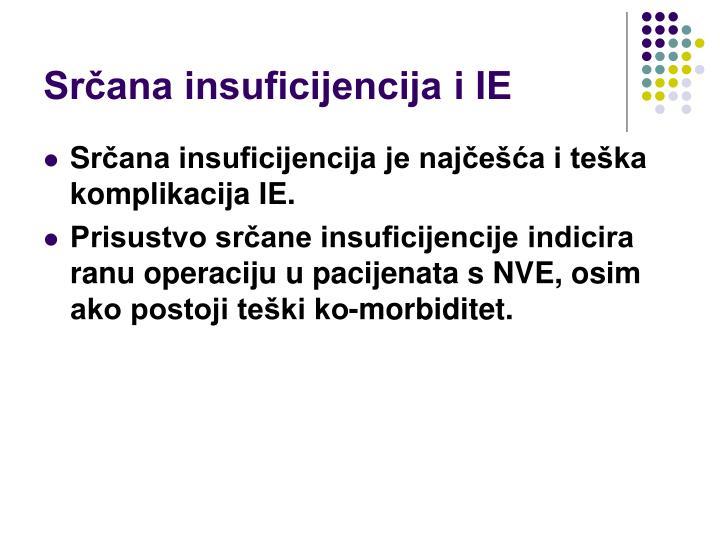Srčana insuficijencija i IE