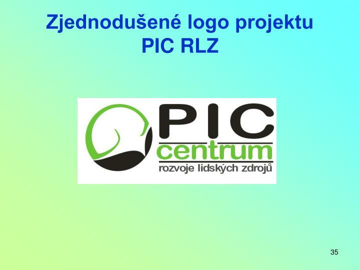 Zjednodušené logo projektu
