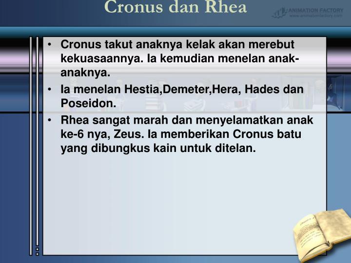 Cronus dan Rhea