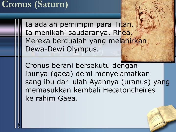 Cronus (Saturn)
