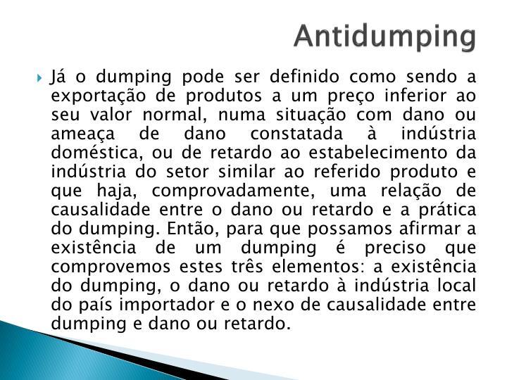 Antidumping