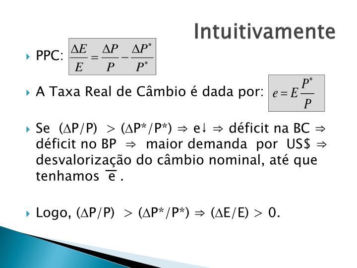 Intuitivamente