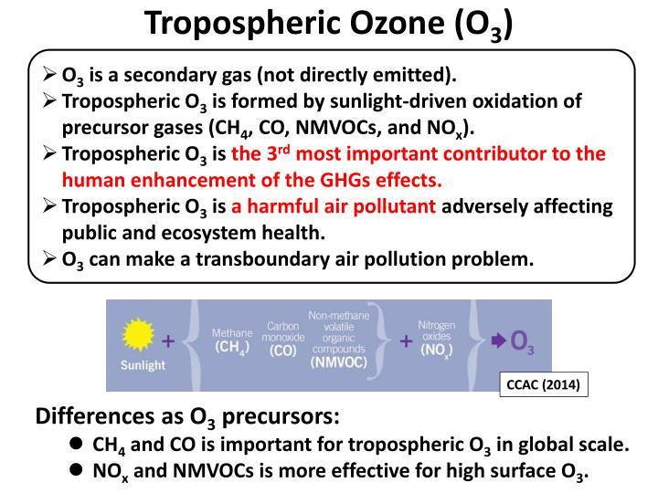 Tropospheric Ozone (O