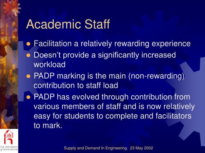 Academic Staff