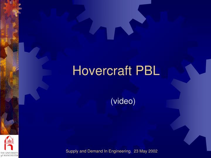 Hovercraft PBL
