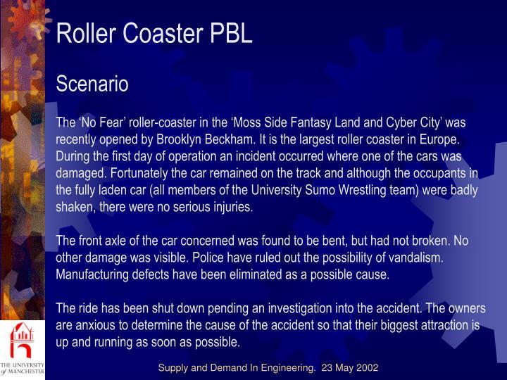 Roller Coaster PBL