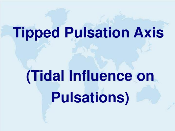 Tipped Pulsation Axis