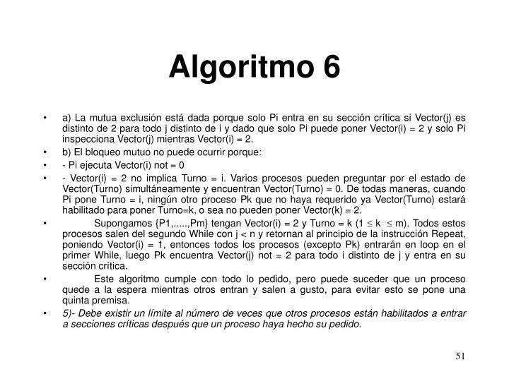 Algoritmo 6
