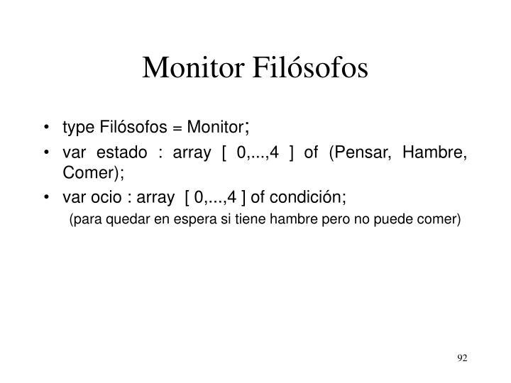 Monitor Filósofos