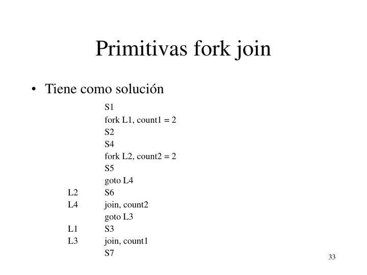 Primitivas fork join