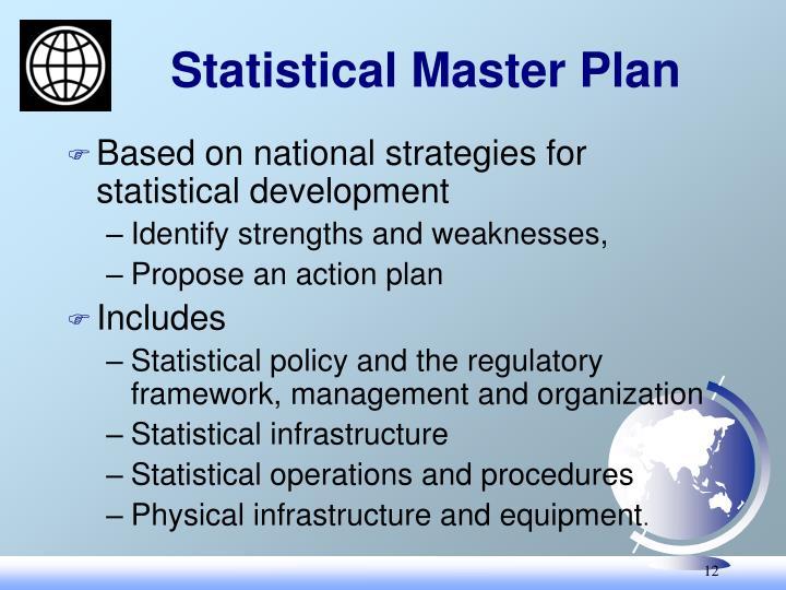 Statistical Master Plan