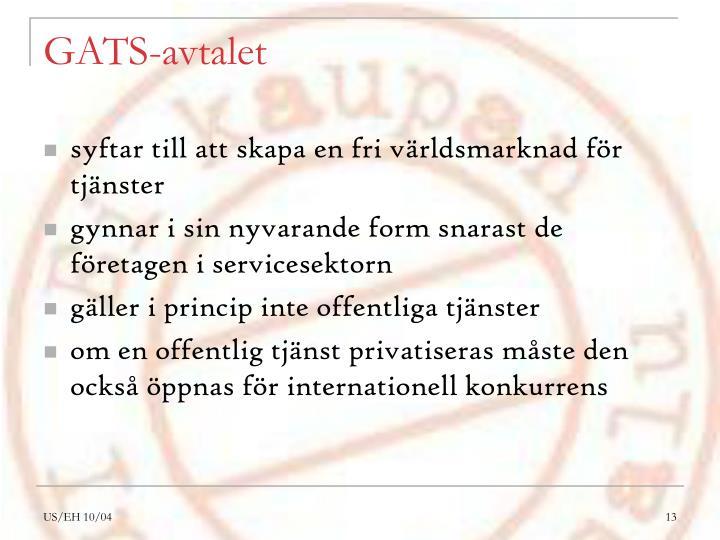 GATS-avtalet