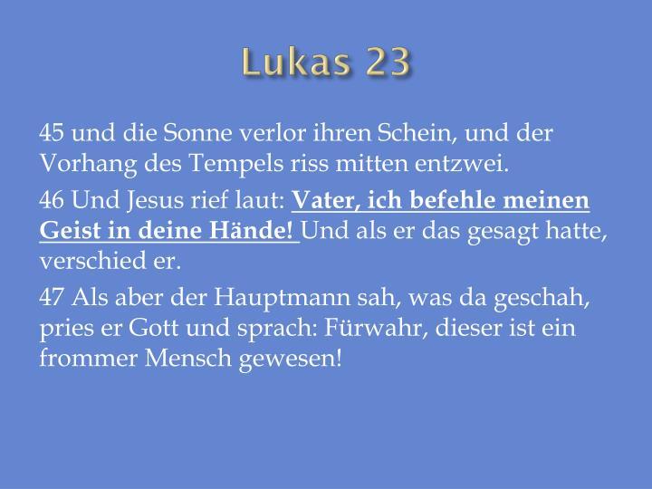 Lukas 23