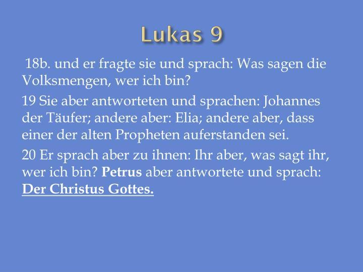 Lukas 9