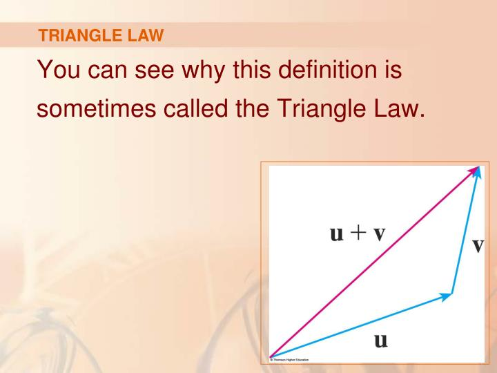 TRIANGLE LAW