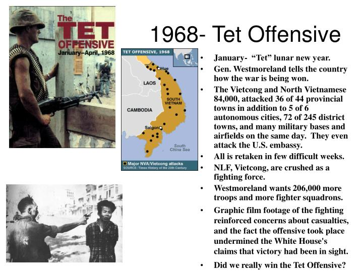 1968- Tet Offensive
