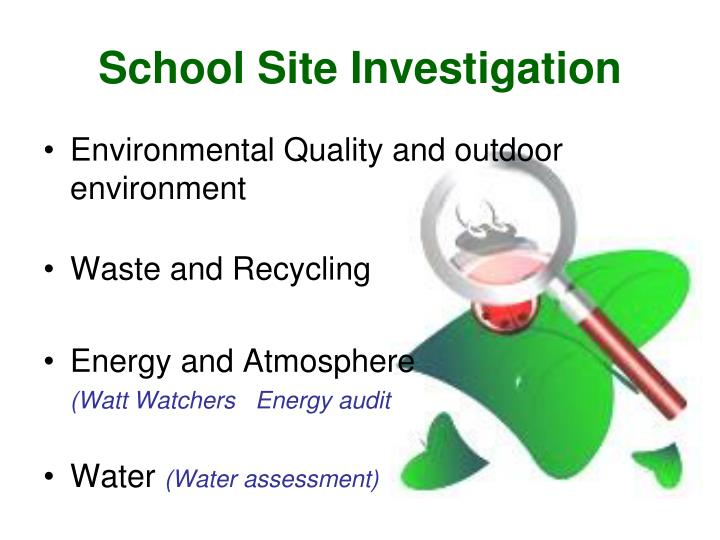 School Site Investigation