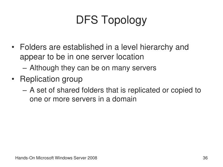 DFS Topology