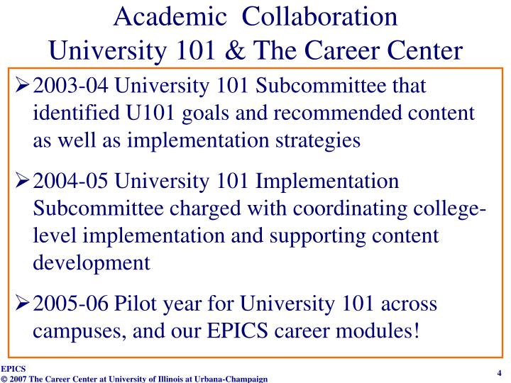 Academic  Collaboration