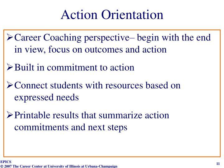 Action Orientation