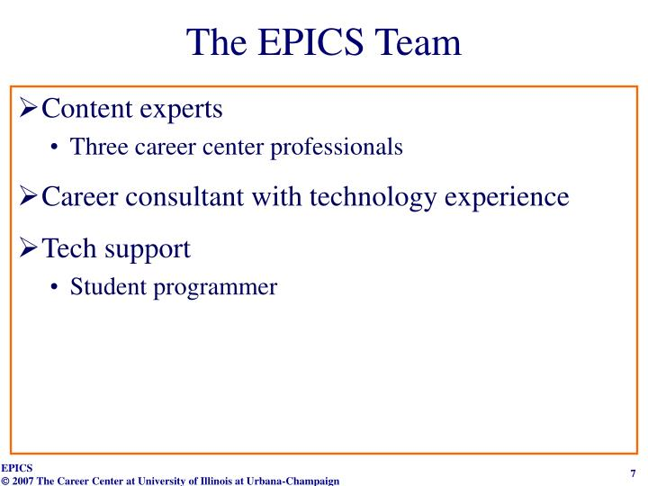 The EPICS Team