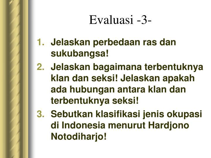 Evaluasi -3-