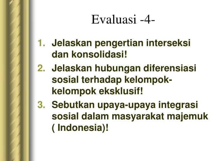 Evaluasi -4-
