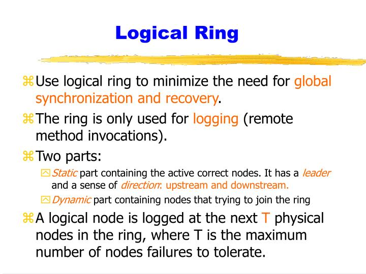 Logical Ring