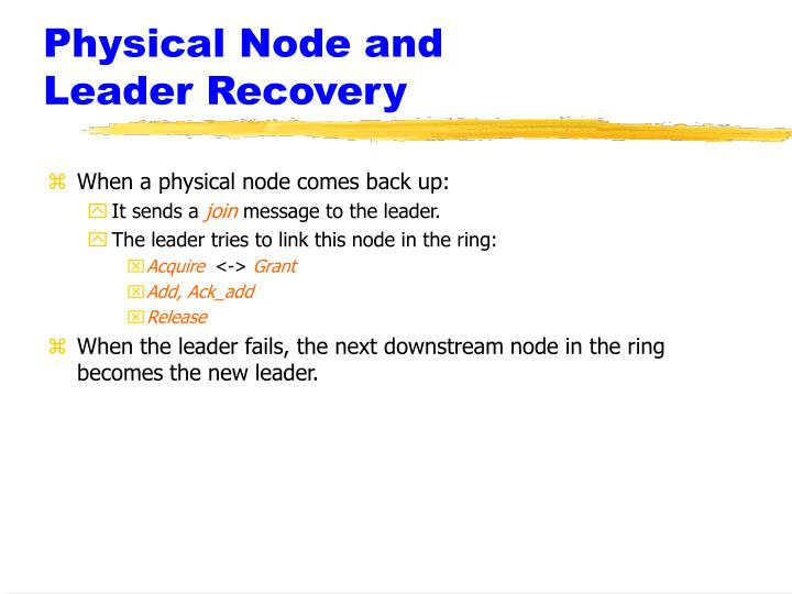 Physical Node and