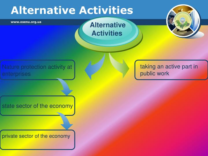Alternative Activities