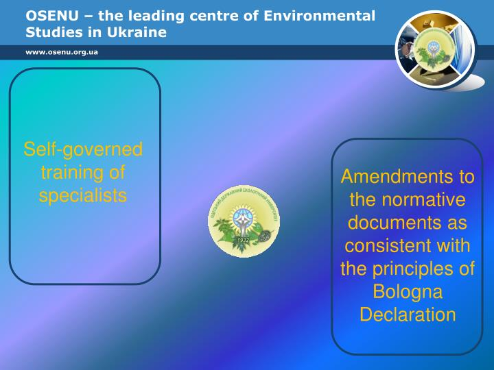 OSENU – the leading centre of Environmental Studies in Ukraine