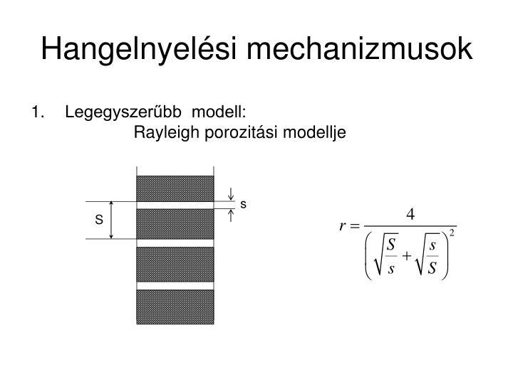 Hangelnyelési mechanizmusok
