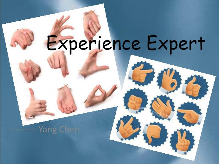 Experience Expert