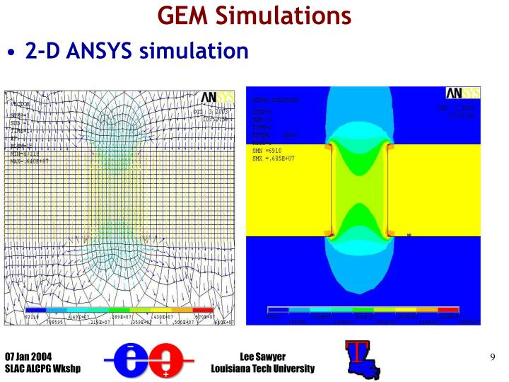 GEM Simulations